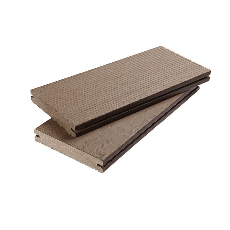 Eco Friendly WPC Solid Decking 100% Recycled