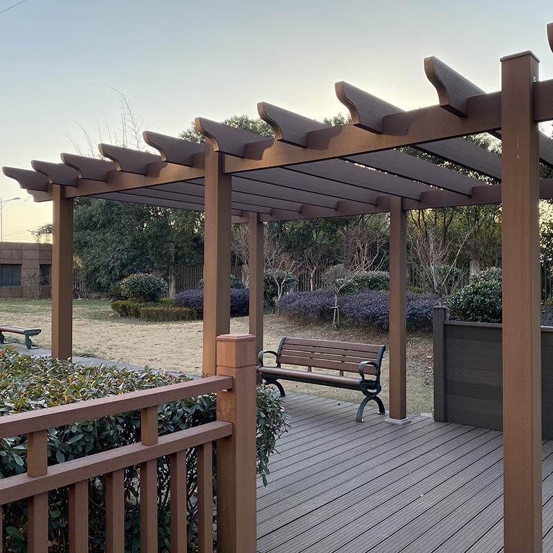 Hot Sale WPC Garden Pergola