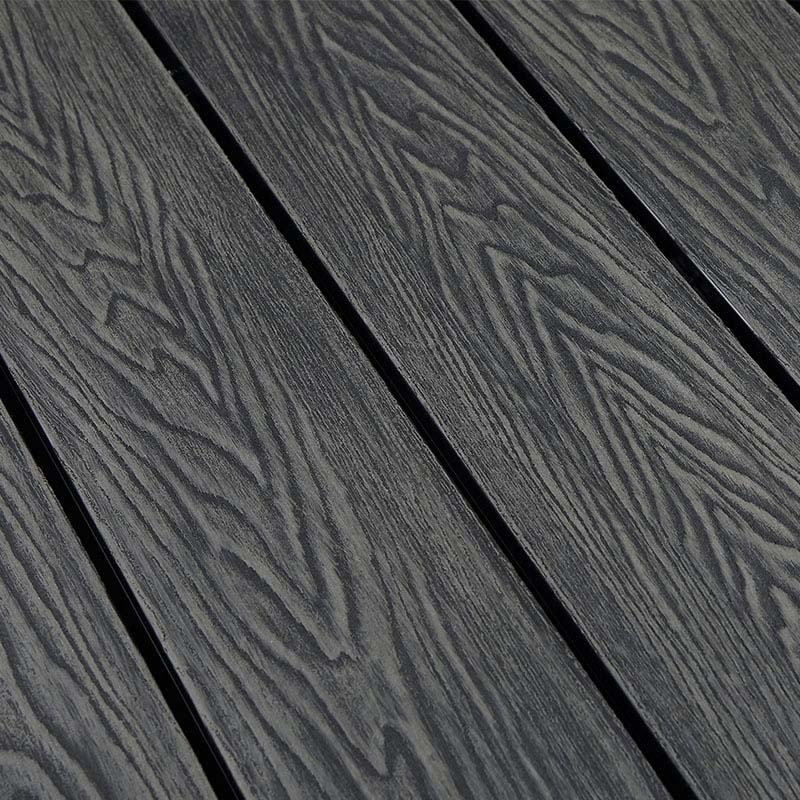 3D Embossing Durable Wood-Plastic Composite Decking