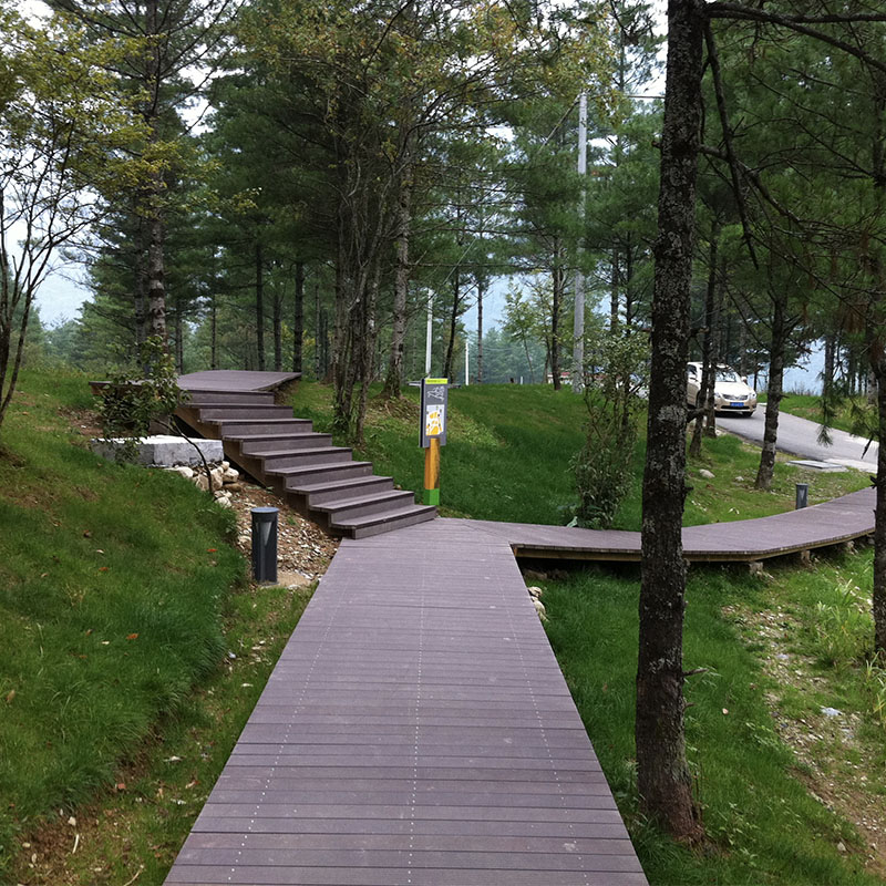 Eco Friendly WPC Solid Decking Board