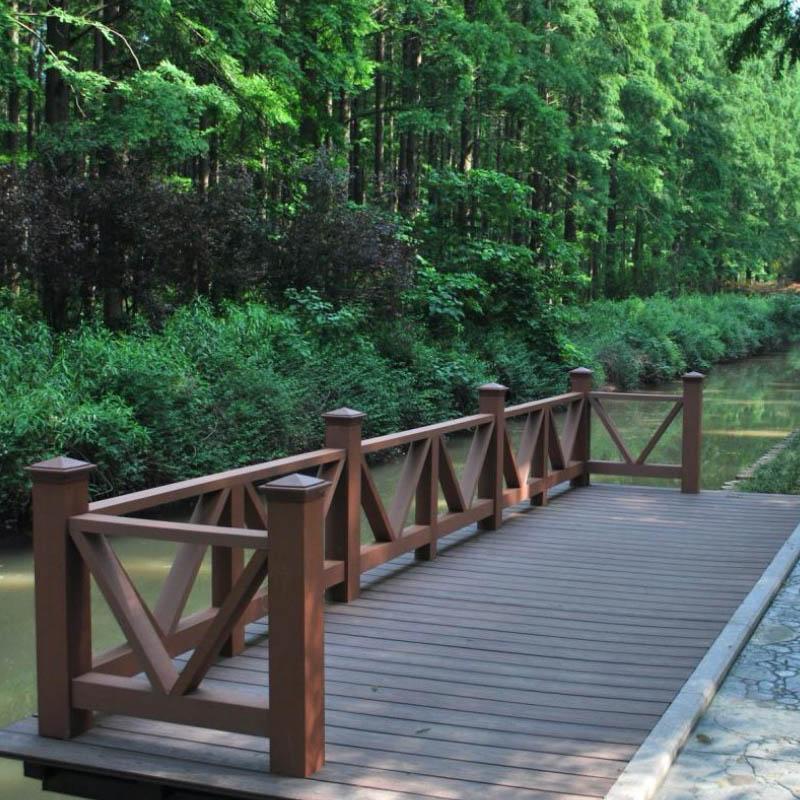 Hot Sale WPC Railing Handrail