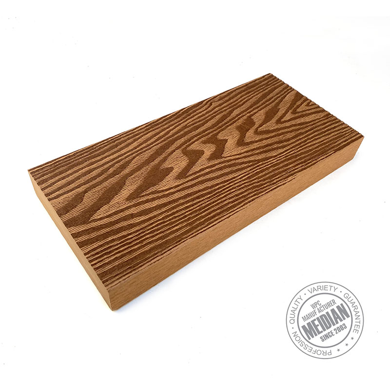 Plastic Composite Solid WPC Decking Board