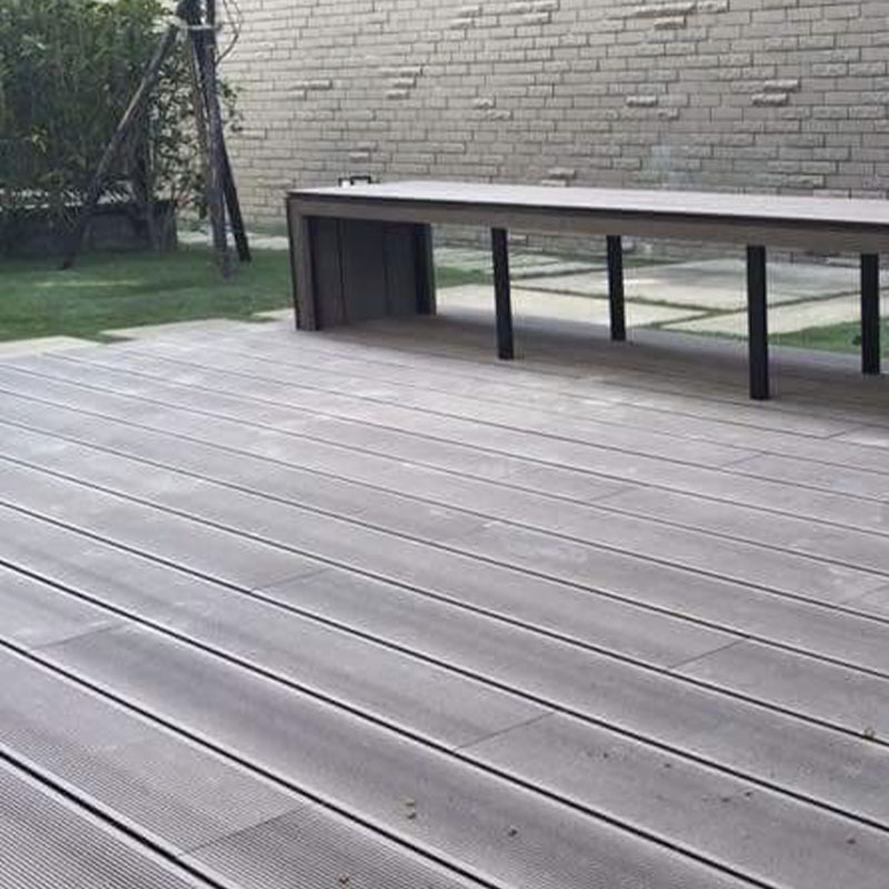 Popular WPC Solid Decking Flooring With Good Price