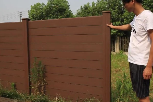WPC Fence Installation Instruction