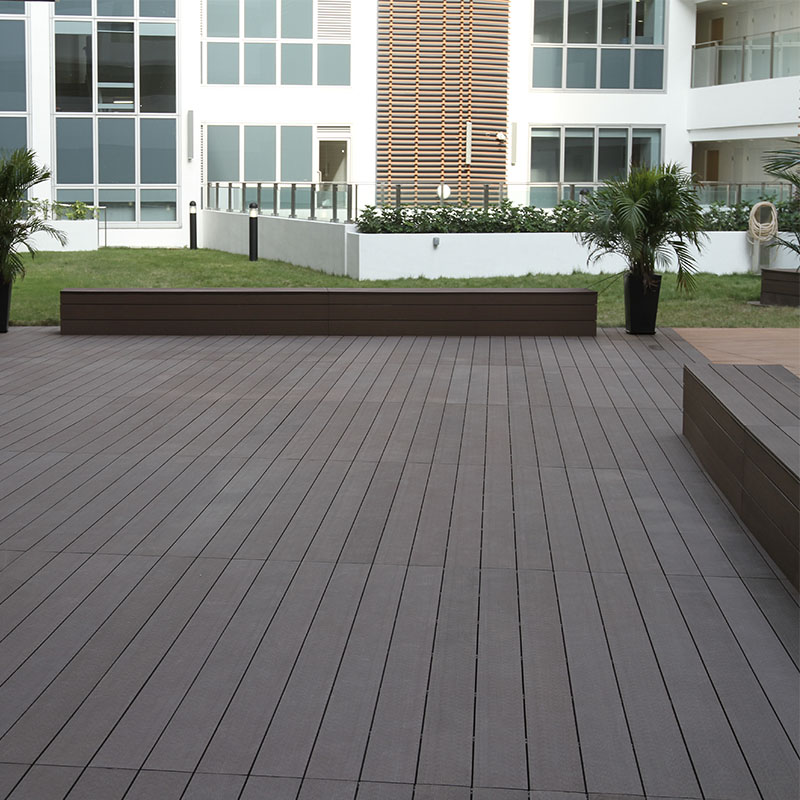 WPC Fireproof Solid Composite Outdoor Decking