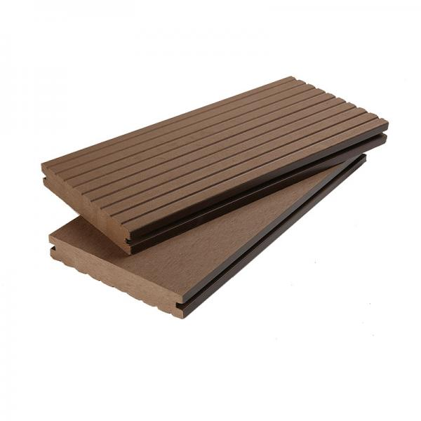 140x25mm Outdoor WPC Solid Decking Flooring