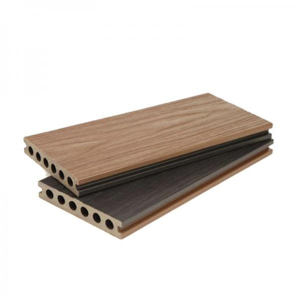 Co Extruded Wood Plastic Composite Decking Easy Maintenance