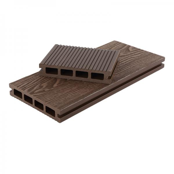 Hot Sale WPC 3D Online Embossed Decking