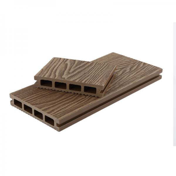 WPC 3D Online Embossed Wood Grain Decking