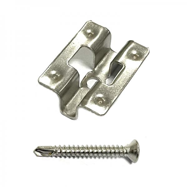 WPC Stainless Steel Clip and Screw