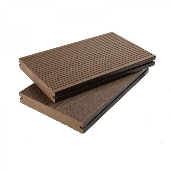 Waterproof WPC Composite Solid Decking