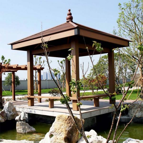 Weatherproof  WPC Gazebo Pavilion