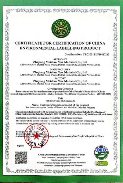CEC Certiificate