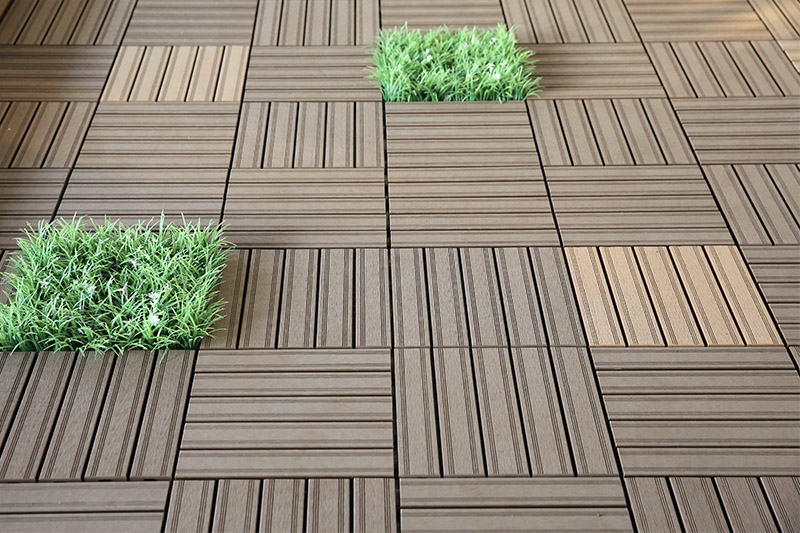 What is composite deck tile?
