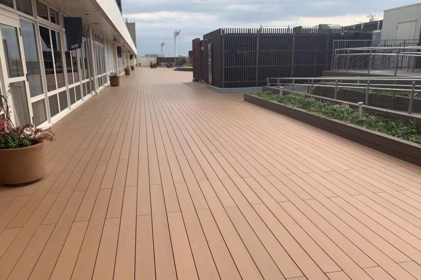 Composite Decking WPC Decking in Japan